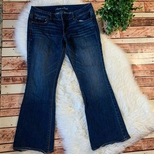 Ladies American Eagle Artist Stretch Jeans Size 14